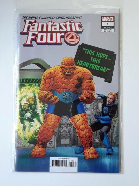 Fantastic Four #1 Cassaday Variant Comic Book 2018 - Marvel