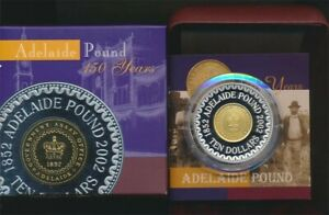 Australia-2002-10-nearly-2oz-Silver-Proof-Adelaide-Pound-150-Years-Cat-160