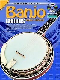 Raisonnable Progressive Banjo Chords Gélifiant Livre & Cd-afficher Le Titre D'origine DernièRe Technologie