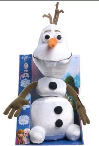 Disney frozen olaf pull apart talking plush 15 inches