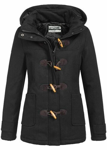 50/% OFF B17094746 Damen Hailys Jacke Winter Parka Kapuze Zipper Taschen schwarz