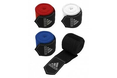 Adidas Boxing Hand Wraps 255cm Muay Thai White 2.5m stretch bandages