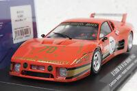 Slotwings W50103 Ferrari 512bb Lemans 1982 Group 5 1/32 Slot Car In Display