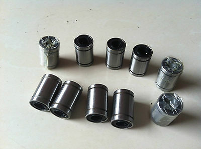 10pcs LM16UU 16mm x 28mmx 37mm Linear Ball Bearing For 3D Printer CNC Tool
