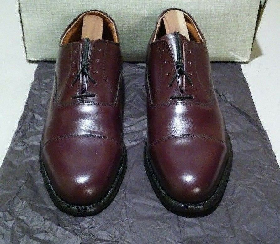 Scarpe casual da uomo  New Pvt. Label (Mezlan factory) #5543 7.5 D burgundy (582)