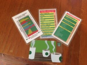 Set of 3 Small Casino Strategy Cards