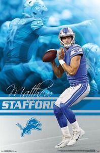 Mateo-Stafford-Detroit-Leones-Poster-22x34-NFL-Futbol-16012