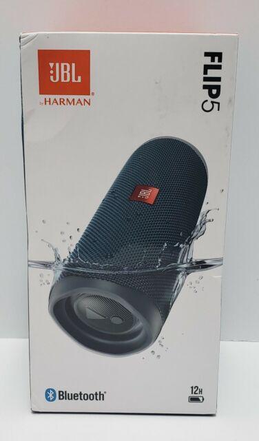 JBL Flip 5 Waterproof Portable Rechargeable Bluetooth Speaker - Blue (A)