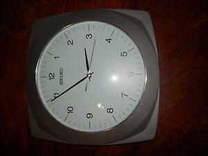 Seiko R Wave Radio Controlled 12 X 12 In Wall Clock