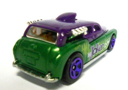 LOOSE JOKER Cockney Cab II from the 2018 Hot Wheels City Batman 5 Car Pack