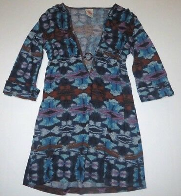 Top Blusa Donna TOY G by PINKO Camicia Italy H538 Bianco Tg L veste piccolo