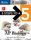 5 Steps to a 5: AP Biology 2017 Cross-Platform Prep Course by Mark Anestis and Kellie Ploeger Cox (2016, Paperback)