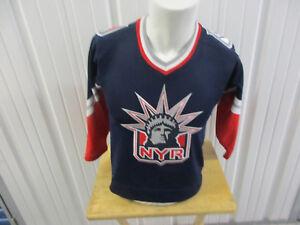 VINTAGE KOHO NHL NEW YORK RANGERS HOCKEY YOUTH SMALL MEDIUM JERSEY ... 09cb9d3e3