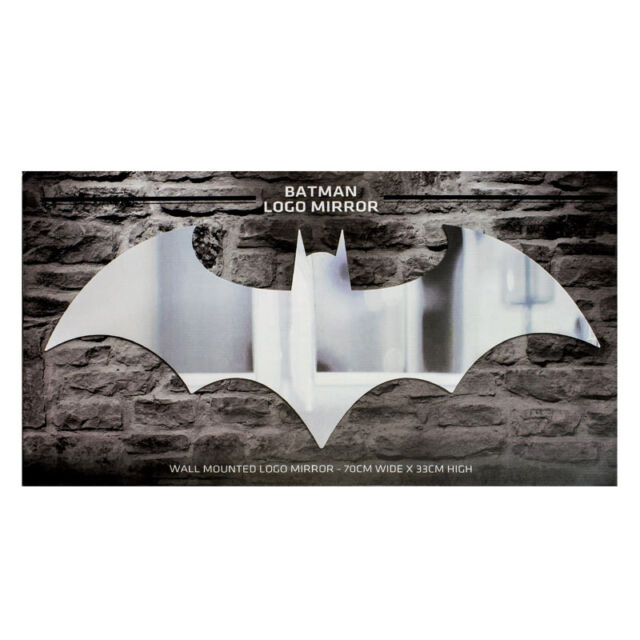 Official Batman Arkham Knight Bat Symbol Logo Wall Mirror