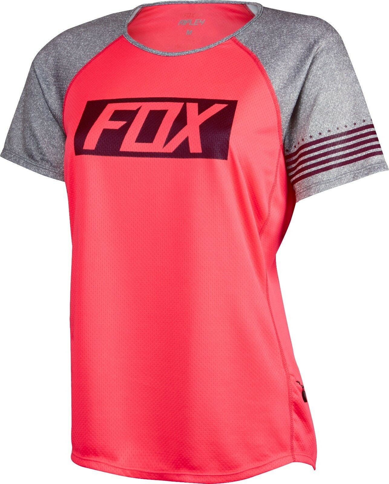 Fox Racing Womens Ripley s  s Jersey Neo Red  floor price