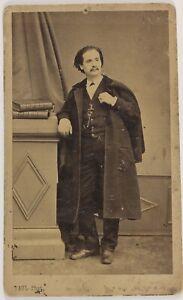 Paul Fotografia Da L Aquila Imperiale Parigi Francia Foto CDV Vintage Albumina