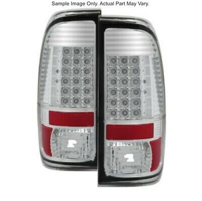 FITS 08-16 ONLY FORD SUPER DUTY SPYDER BLACK LED TAILLIGHTS 2..