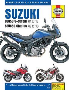 Suzuki-DL650-V-Strom-amp-SFV650-Gladius-2004-2013-Haynes-Manual-5643-NEW