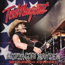 Motor City Mayhem: 6,000th Concert by Ted Nugent (Vinyl, Jun-2013, Let Them...