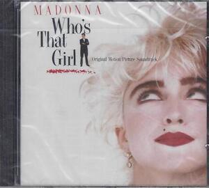 CD-Compact-disc-MADONNA-WHO-039-S-THAT-GIRL-nuovo-sigillato