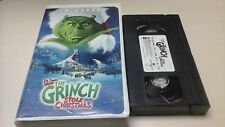 How the Grinch Stole Christmas (VHS, 2001, Includes Plush Toy)