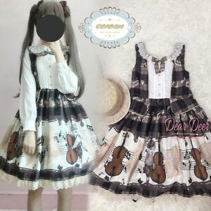 5f912d8ae6c Vintage Mori Girl Japanese Sweet Lolita House Print Princess Elegant ...