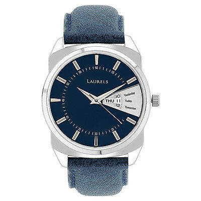 Laurels Invictus 2 Analog Blue Dial Men' Watch - Lo-Inc-203