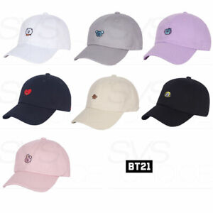 BTS-BT21-Official-Authentic-Goods-Character-Cap-By-SPAO-Tracking-Number