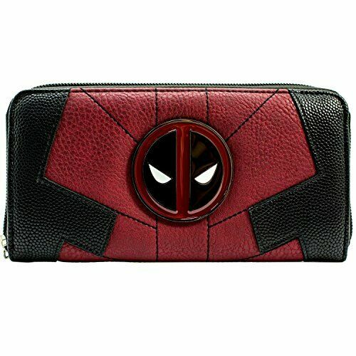 Marvel Deadpool Anti-Hero Suit Up Red Coin & Card Clutch Purse