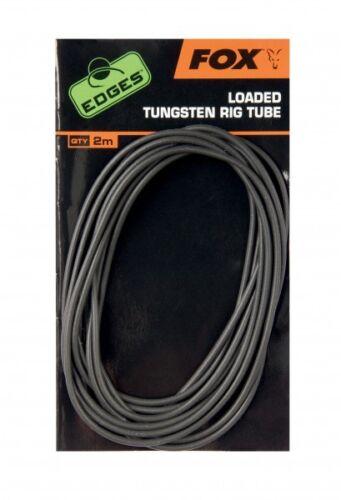 4,50€//1m Fox Edges Tungsten Rig Tube Schlauch 2m Rigtube beschwert für Karpfen