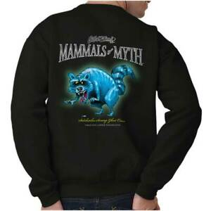 Swamp-Ghost-Raccoon-Funny-Outdoor-Nature-Sporting-Gift-Pullover-Sweatshirt
