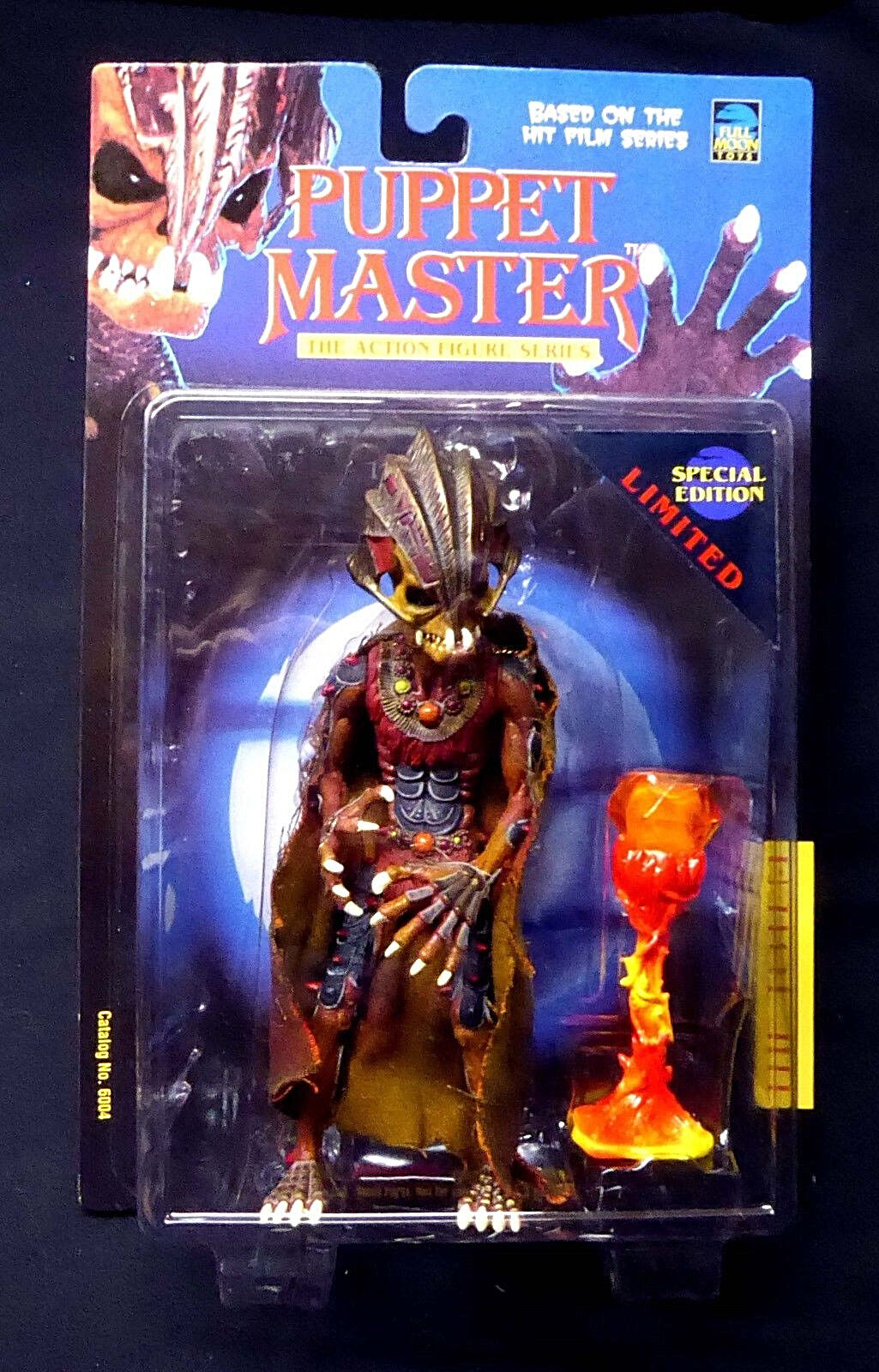 Puppet Master 7  The Totem Limited AF Full Moon Toys Legends of Horror New 1997