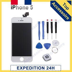 schermo iphone 5c bianco