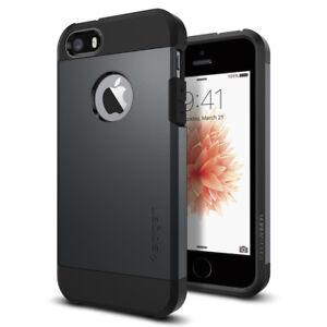 sports shoes 3ea6b c82f6 Spigen® Apple iPhone SE / 5 / 5S Case [Tough Armor] Shockproof Slim ...