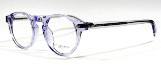 03f2e3498c Oliver Peoples Gregory Peck OV5186 1467 Unisex Clear Frame Eyeglasses 45mm