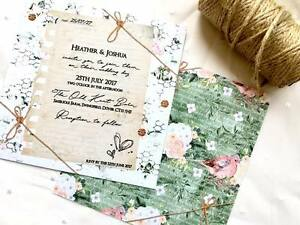 50 Rustic Vintage Country Shabby Chic Twine Love Letter Wedding
