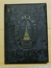 1950 Edwin E M Holt High School Yearbook Burlington North Carolina NC Alamance