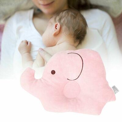 Elephant Pattern Baby Anti Roll Pillow Sleep Prevent Flat Head Cushion Pillow G