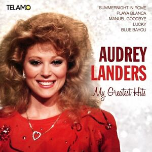 Audrey-Landers-My-GREATEST-HITS-CD-NUOVO