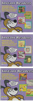 Harcourt Cd-rom Instant Readers Lot Of 3 Audio Instructions In English & Spanish