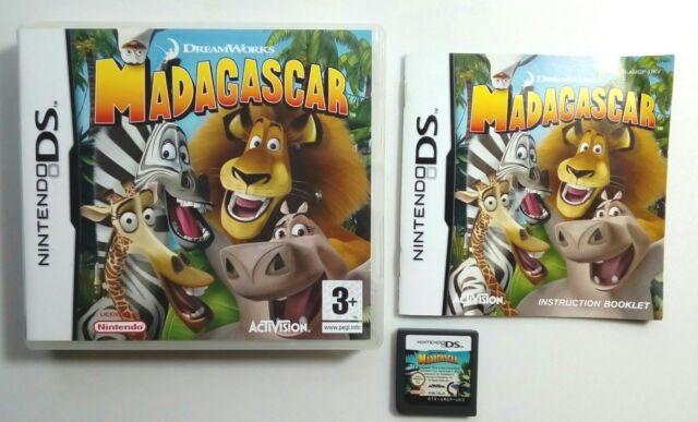 Madagascar [Nintendo DS/Lite/DSi/XL Game] GENUINE