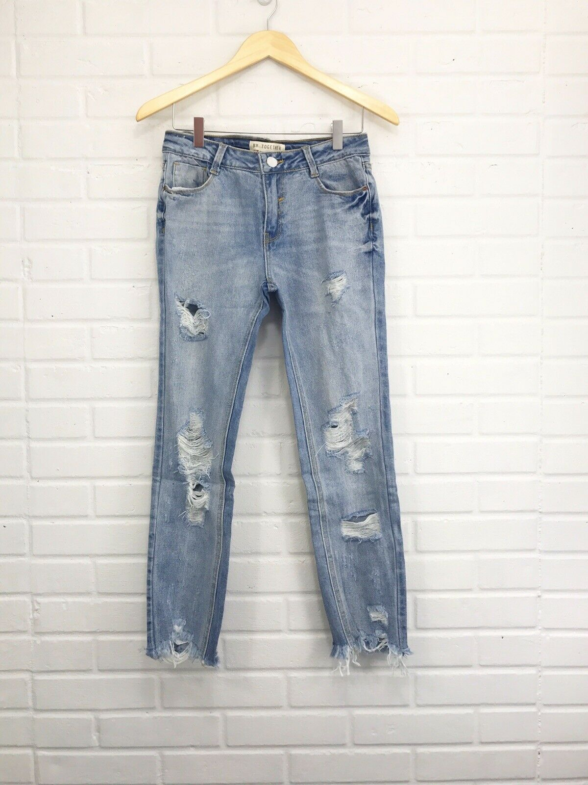 By Together Raw Edge Jeans