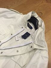 POLO RALPH LAUREN MENS EMBROIDERED  M43 COMBAT JACKET WHITE SIZE:L  RRP:£515