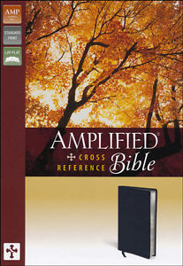 Amplified-Cross-Reference-Bible-Black
