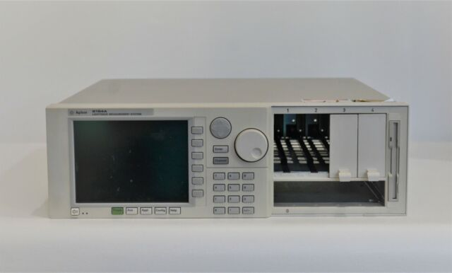 Keysight Agilent 8164A Lightwave Measurement System Mainframe Tested w/ Warranty