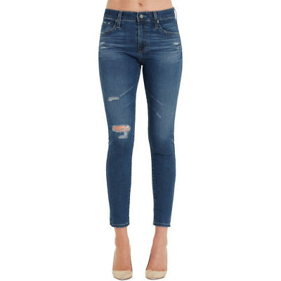NEW Adriano Goldschmied Farrah Skinny Ankle Jeans Blue