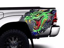 Custom Vinyl Rear Decal DRAGON Wrap Kit for Toyota Tacoma 05-15 TRD Truck Parts