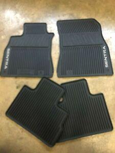 New Oem Nissan Sentra 2020 2022 4 Pc Rubber Floor Mat Set Slush Mats Ebay
