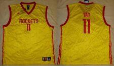 662c55d71c9 ... NWT Yao Ming 11 Houston Rockets NBA World Replica Lemon Peel Mens  Jersey 2XL .