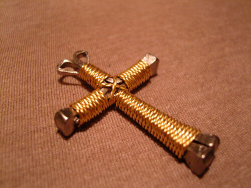 Disciples cross necklace with star charm